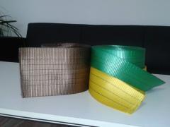Rubans textiles pour jarretières