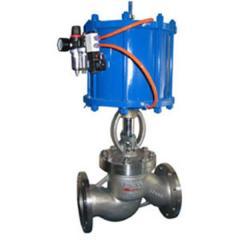 Pneumatic gate valves