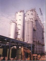 Equipment for production of polyethylene