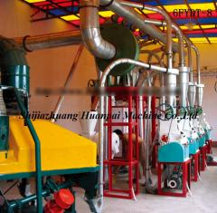 Fully automatic maize flour milling machine
