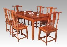 刺猬紫檀明式餐桌