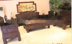 红宝轩中山黑酸枝沙发