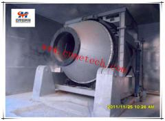 Cold aluminum dross processing (Tilting Rotary