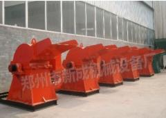 Crushers for wood wastes