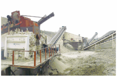 Equipment for crushing and grinding