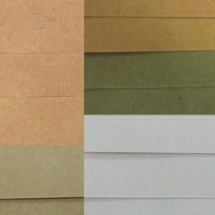 Brown / White Kraft paper