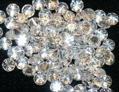 Brillanite loose Cubic zirconia white for Waxed