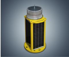 OLIS50 LED solar powered aviation obstruction