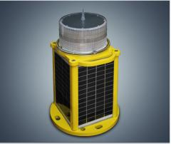 OLIS32 LED solar powered aviation obstruction