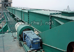 Conveyors for mines scraping