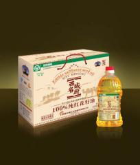 100%西域名厨红花籽油(礼盒)