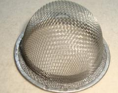 Sieves from metal