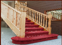 Three element folding stairs