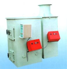 Equipment for crematoriums, combustion plants