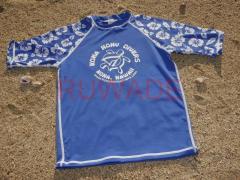 UV50+ short sleeve lycra rash guard shirt