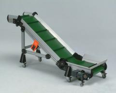 Belt inclined conveyors
