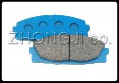 Front brake disks