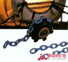 Chains for coal-plough machines