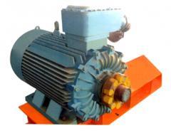 Explosion-proof electric motors