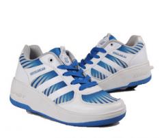 儿童运动鞋男暴走鞋跑步鞋滑轮鞋内增高
