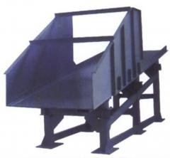Mine vibrating feeders