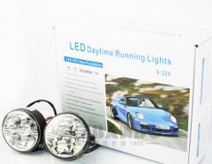 LED专车专用日行灯-汽车LED防水安全行驶日行灯 圆形日行灯 汽车LED日行