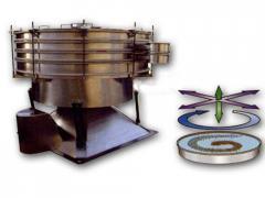 Vibrating sieves