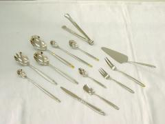 Eating utensils made of precious metals