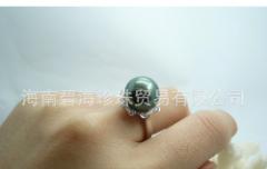 幸福留恋指间,顶级南洋珍珠戒指