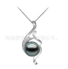 新年礼品南洋珍珠项链、时尚珍珠吊坠、套装珍珠礼品_1