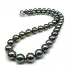 奢华高贵南洋珍珠项圈!颗颗精选,粒粒惊人!大颗珍珠项链