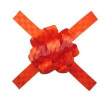 红色的蝴蝶结 礼品花