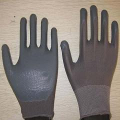 Sell gray nitrile coated working gloves  NG1501-6