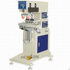 HP-125B pneumatic 2 colors pad printer with