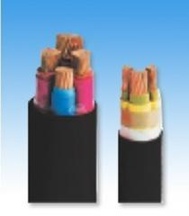 Power cables with rubber isolation