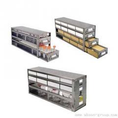 立式不锈钢冰箱分隔柜