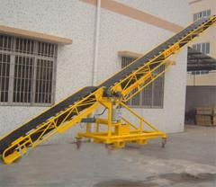Movable conveyor belts