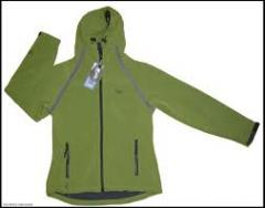 Women′s Polar Fleece Jacket Hf1308