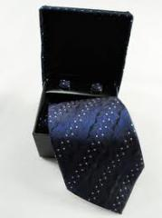 Polyester Neckties With Cufflinks (TI1004)
