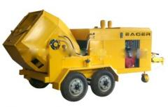 Concrete mixers for hard mixes