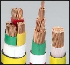 额定电压0.6/1KV聚氯乙烯绝缘电力电缆