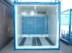 Vacuum cooling equipment