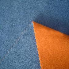 Polar Fleece Bonded with Mesh
