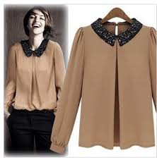 Ladies Fashion Spring Blouse