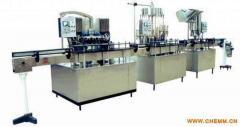 Equipment for food liquids bottling