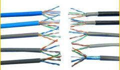 Cable UTP Cat5e Cat6 Cat7 Cat3