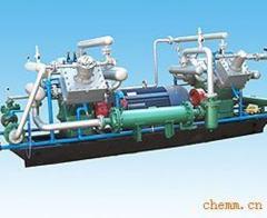 Compressors of a high pressure