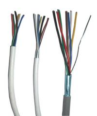 Cables and wires for systems of the signal system