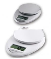 ABS塑胶电子厨房秤 厨房料理秤 食品秤 营养电子称 厨房秤5kg