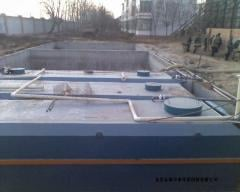 Equipment for sewage treatment, meat packing